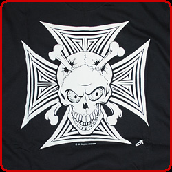 Skull & Iron Cross