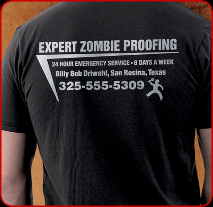 Zombie Proof closeup