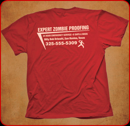 Zombie Proof red